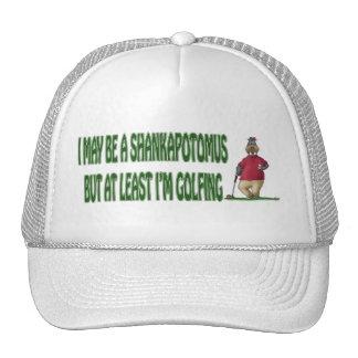 Golf Hat: Shankapotomus Hippo Trucker Hat