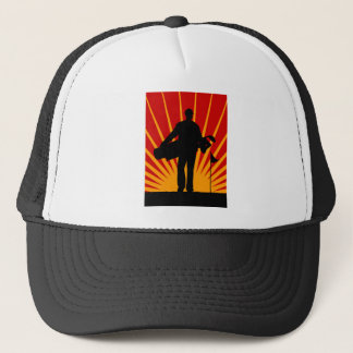 golf hero trucker hat