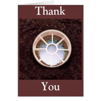 Golf Hole Greeting Card