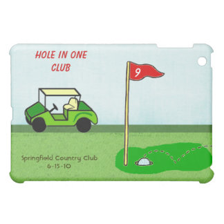 Golf Hole In One Club Personalized Bragging Rights Case For The iPad Mini