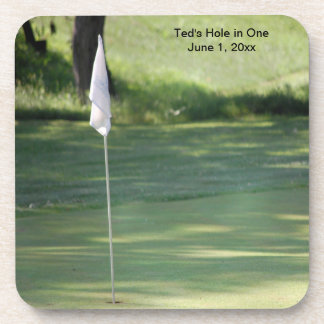 Golf Hole in One Coasters