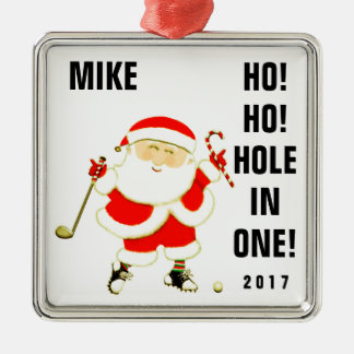 Golf Hole-in-one Collectible Metal Ornament
