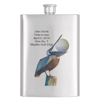 Golf Hole-in-one Commemoration Customizable Flask