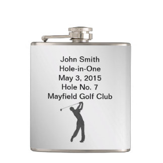 Golf Hole-in-one Commemoration Customizable Flasks