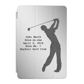 Golf Hole-in-one Commemoration Customizable iPad Mini Cover