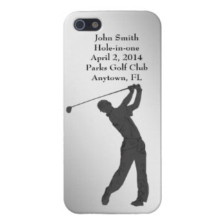 Golf Hole-in-one Commemoration Customizable iPhone SE/5/5s Case
