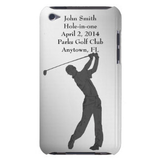 Golf Hole-in-one Commemoration Customizable iPod Touch Case