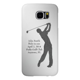 Golf Hole-in-one Commemoration Customizable Samsung Galaxy S6 Case