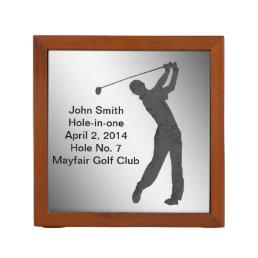Golf, Hole-in-one Commemoration, Reversible Desk Organizer