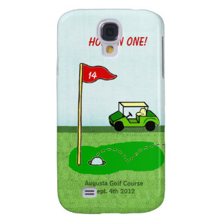 Golf Hole In One Personalized Bragging Rights Samsung S4 Case