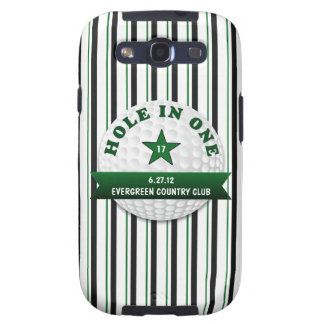 Golf Hole in One Personalized Galaxy SIII Cover