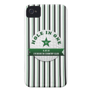 Golf Hole in One Personalized Case-Mate iPhone 4 Case