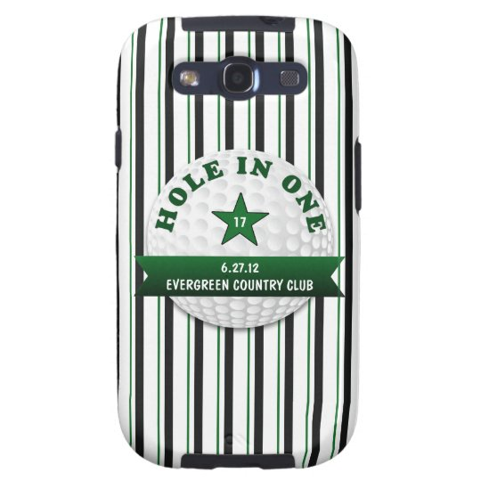 Golf Hole in One Personalized Galaxy S3 Cover
