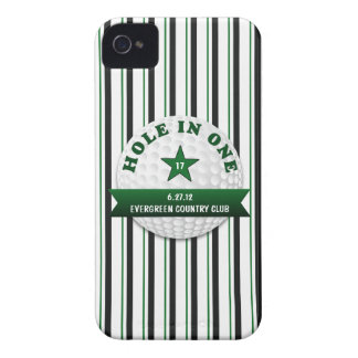 Golf Hole in One Personalized iPhone 4 Case