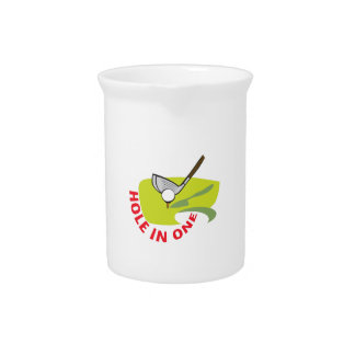 GOLF HOLE IN ONE PITCHER