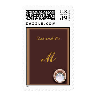 Golf Hole Postage Stamp