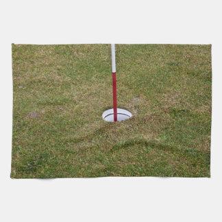 Golf hole towel