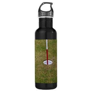 Golf hole water bottle