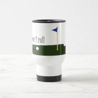 golf how i roll 15 oz stainless steel travel mug