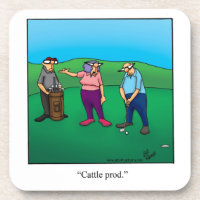 Golf Humor Coaster Set For Couple