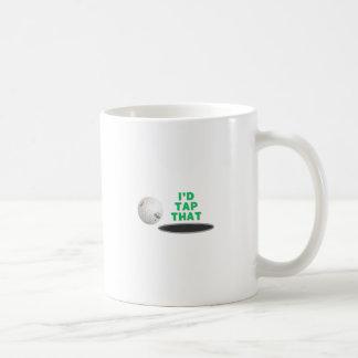 Golf - I'd tap that Classic White Coffee Mug
