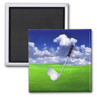 Golf Imán De Frigorifico