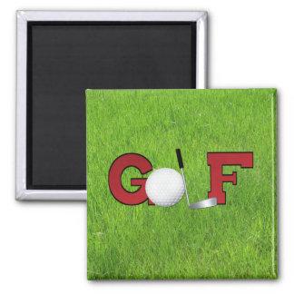 Golf Imán Cuadrado