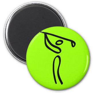 Golf Imán Redondo 5 Cm