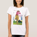GOLF IN GERMANY VINTAGE TRAVEL POSTER T-Shirt