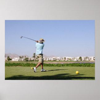 Golf in Sharm el Sheikh, Egypt Poster