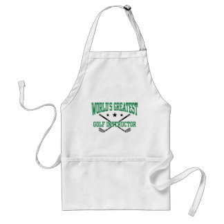 Golf Instructor Adult Apron