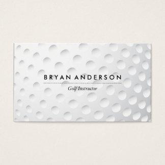 Golf Instructor Business Card