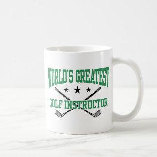 Golf Instructor Coffee Mug