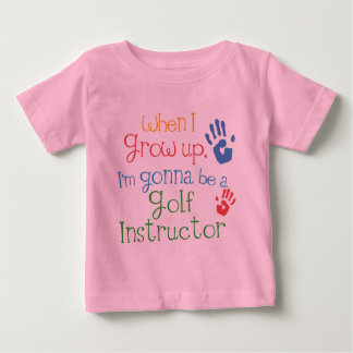 Golf Instructor (Future) Infant Baby T-Shirt