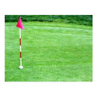 Golf Invitation Postcard