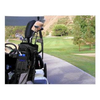 Golf Invitation Post Cards