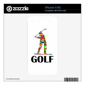 Golf iPhone 4S Skin