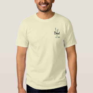 Golf Iron and Putter Custom Clubs for Dad Tshirt