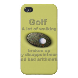 Golf is a lot of walking 2 iPhone 4/4S covers