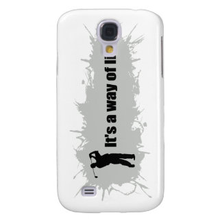 Golf Is a Way of Life Samsung Galaxy S4 Case