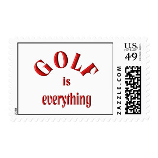 Golf is Everything Stamp