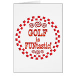 Golf is FUNtastic Card