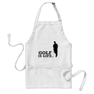 Golf Is Life Adult Apron