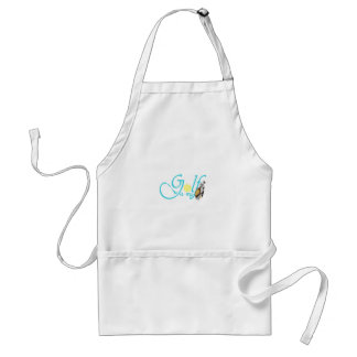 Golf is my Bag Adult Apron