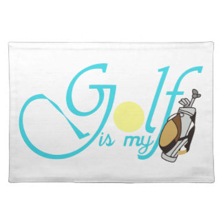 Golf is my Bag Placemat