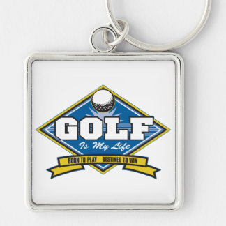 Golf is my Life Keychain