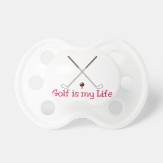Golf is My Life Pacifier