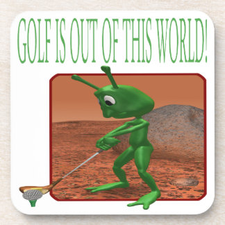 Golf Is Out Of This World Beverage Coaster
