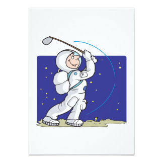 Golf Is Out Of This World Card
