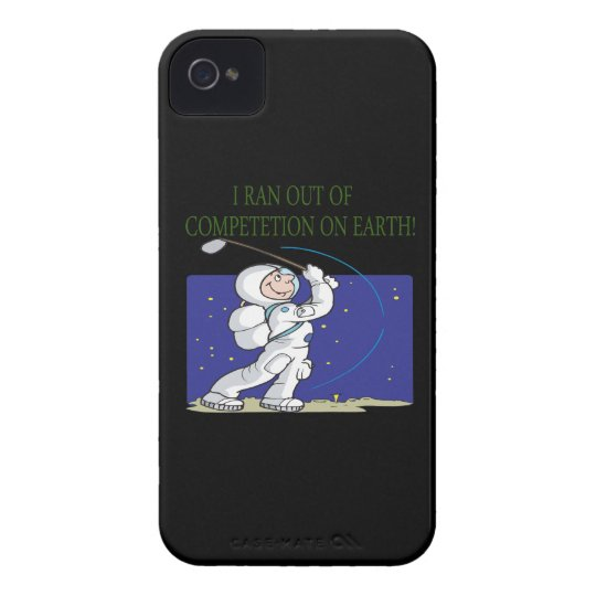 Golf Is Out Of This World Case-Mate iPhone 4 Case